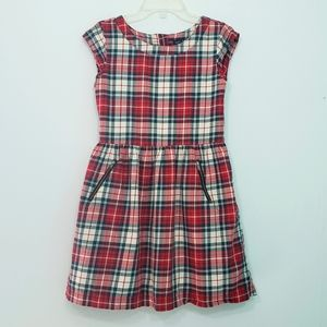 Gap Kids Plaid Dress